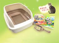 【产品测评】佳乐滋双层猫砂盆套装