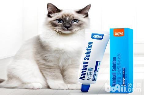 猫咪多大可以吃WOWO化毛膏?