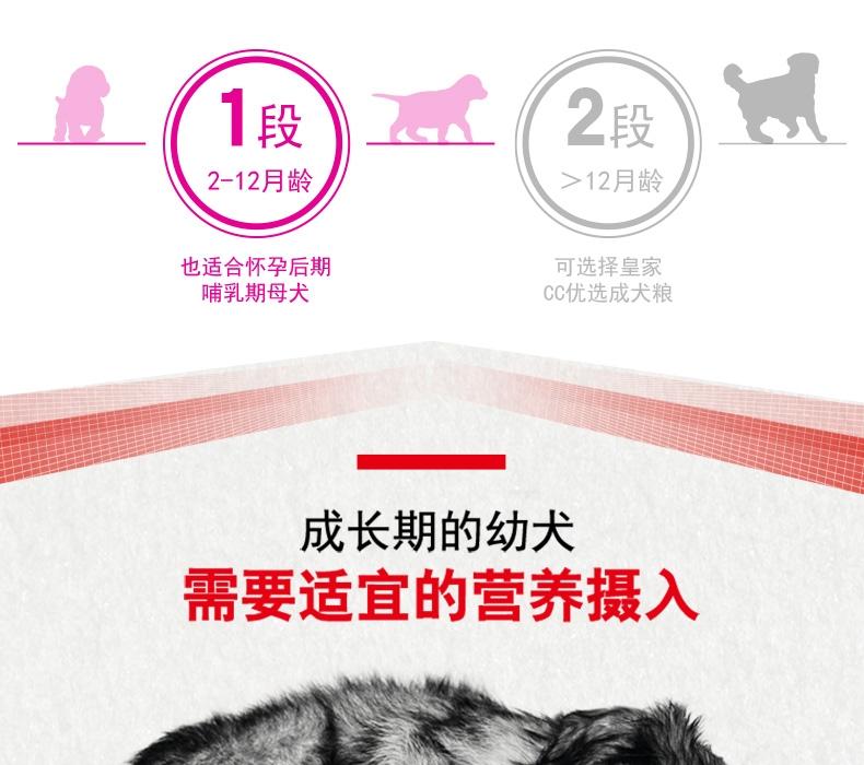 法国皇家Royal Canin A3优选全犬种幼犬粮 8kg