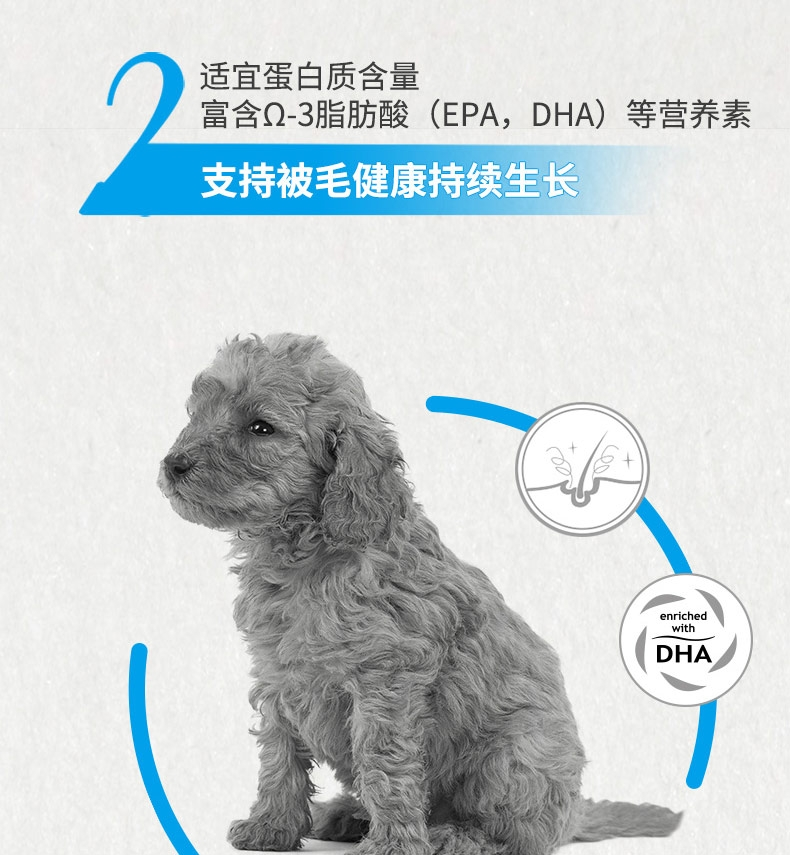 法国皇家ROYAL CANIN 贵宾幼犬粮专用狗粮3kg APD33