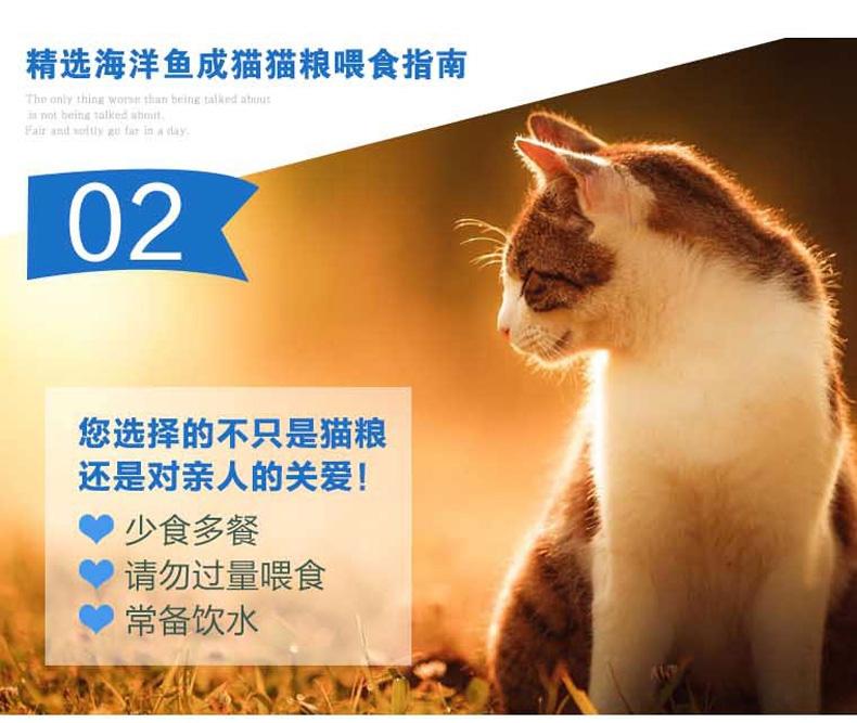 珍宝 成猫粮精选海洋鱼猫粮500g 明亮眼睛
