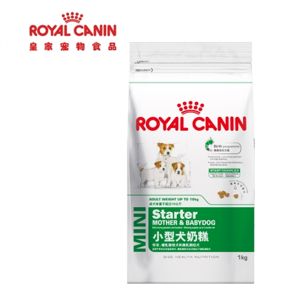法国皇家ROYAL CANIN 小型犬离乳期奶糕1kg MIS30
