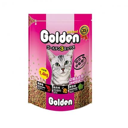 金赏Golden 全期猫粮低盐配方猫粮1.4kg 小图 (0)