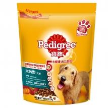 宝路 7岁以上犬粮牛肉鸡肉蔬菜及谷物狗粮1.8kg