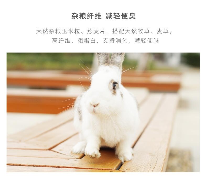 NEW AGE纽安吉全日美毛除臭蔬果兔粮2.75kg