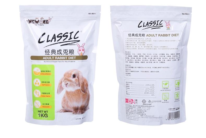 NEW AGE纽安吉 经典成兔粮1kg