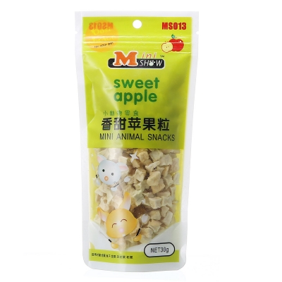 Minishow迷你秀倉鼠零食香甜蘋果粒30g