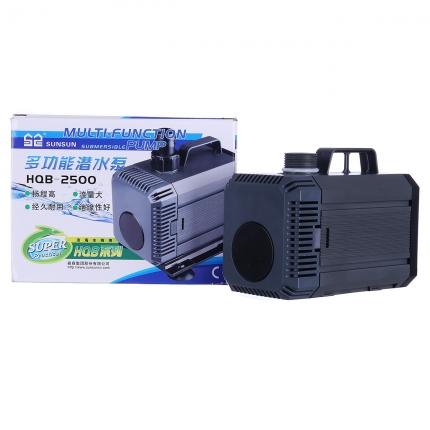 潜水泵鱼缸森森HQB系列抽水泵超静音循环过滤泵假山家用水泵HQB系列