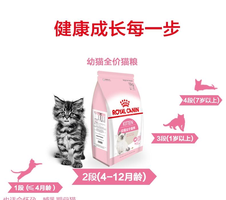 法国皇家ROYAL CANIN 12月以下及怀孕期母猫幼猫粮10kg K36