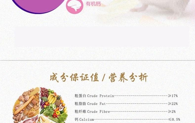凯莉KY13A天竺鼠粮原味版 2.5KG
