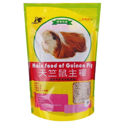 凯莉 KY14天竺鼠粮饲料1kg 全年龄 小图 (0)