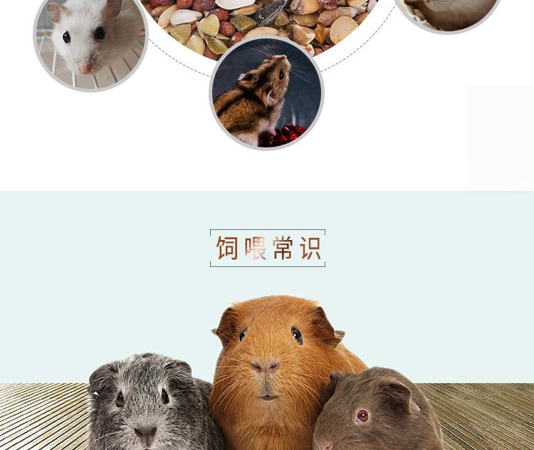 Marsa玛莎仓鼠粮食1kg  MA157