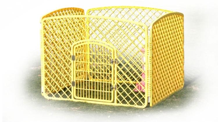 捣蛋鬼 可折叠宠物栅栏围栏 狗狗笼子 超大空间