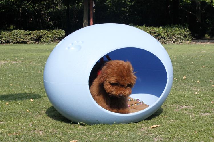 捣蛋鬼 蛋形宠物窝 内附海绵垫、网格垫