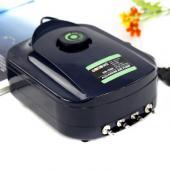 松宝SB-988静音可调节四气孔增氧泵12W