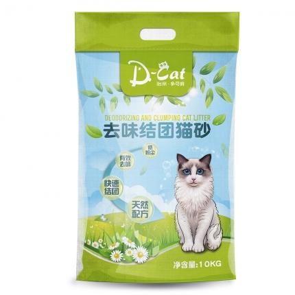 怡亲 膨润土去味结团猫砂10kg