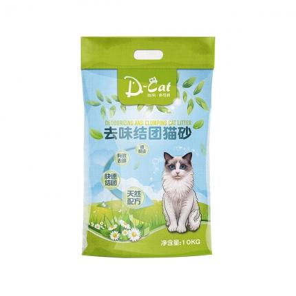 怡亲多可特 膨润土去味结团猫砂10kg