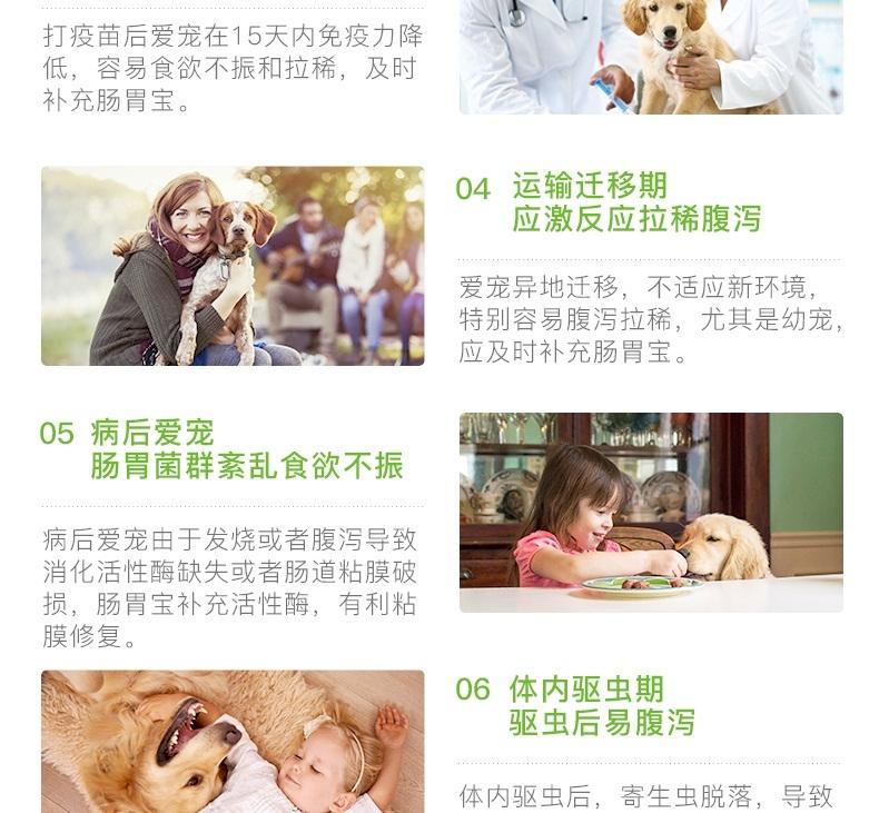 小宠EHD 犬猫肠胃宝益生菌 10包 调理肠胃促消化