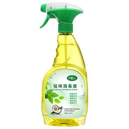 小宠EHD 宠物环境祛味玫瑰香型消毒液500ml 99%杀菌率 小图 (0)