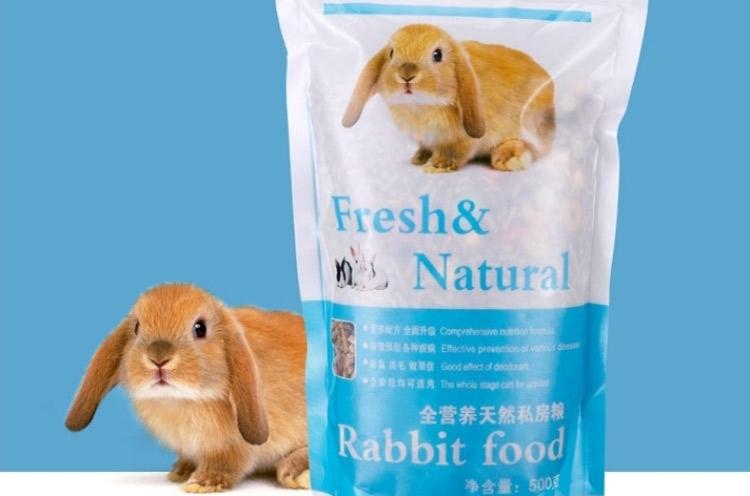 兔粮 幼兔粮.成兔粮.胡萝卜含防球虫成分500g