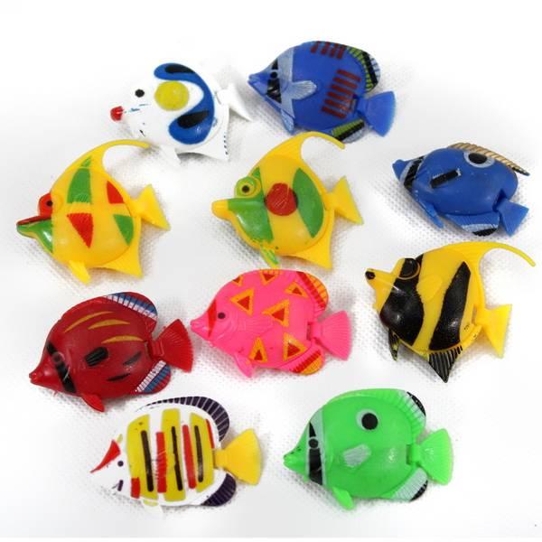 鱼缸装饰假鱼 仿真热带鱼图片