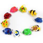 鱼缸装饰假鱼 仿真热带鱼 鱼缸水族造景卡通鱼
