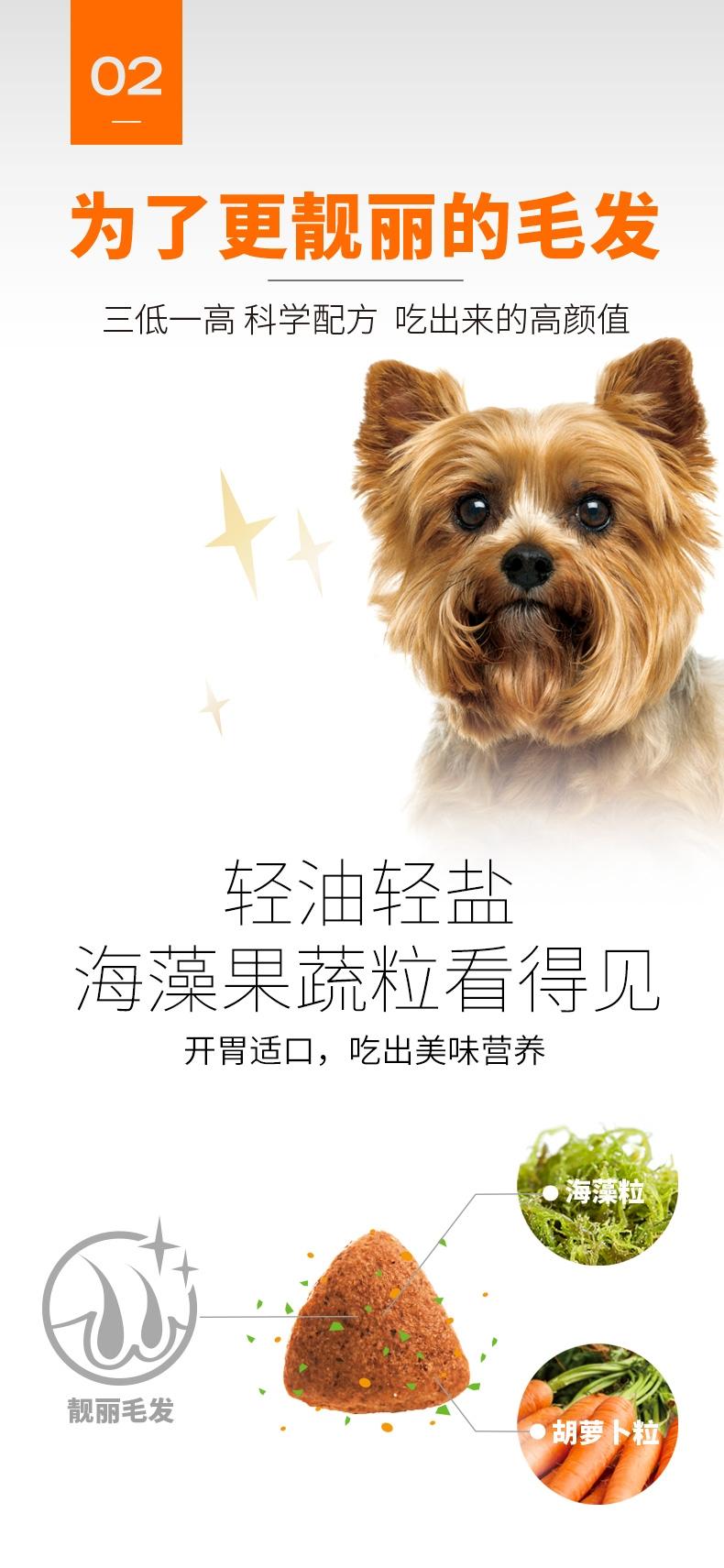 比瑞吉 泰迪贵宾成犬粮天然狗粮 2kg