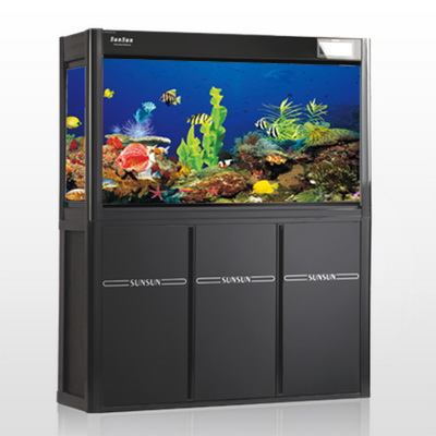 森森鱼缸新款 大鱼缸 独家出售 同城配送 hla-1258e-4s 水族箱图片