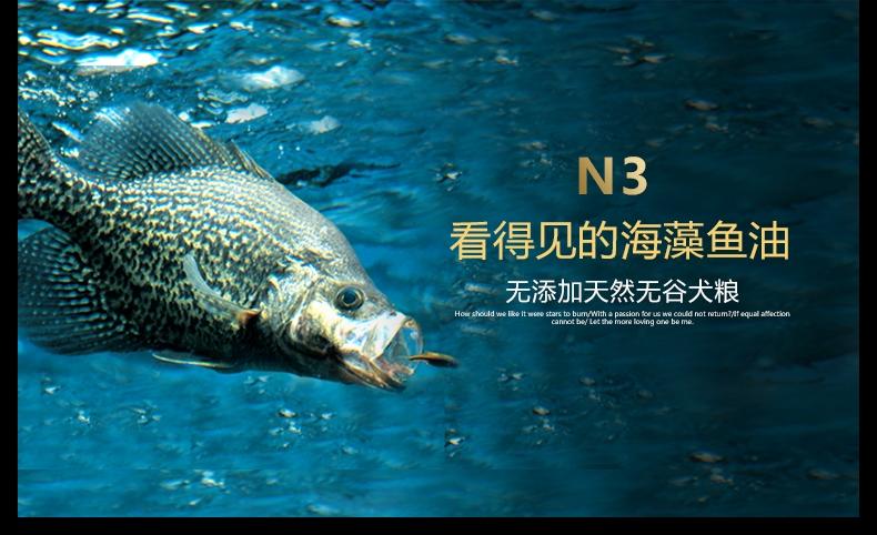 BOTH N3小型犬成犬粮鸭肉三文鱼天然无谷配方狗粮(4lb)1.8kg D52