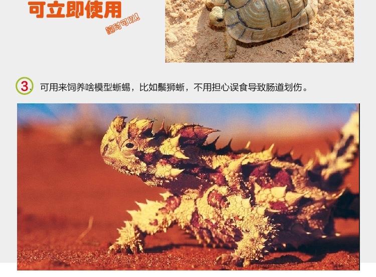 LIFELINE命脉 无菌果壳砂4升 保湿造景/半水龟陆龟专用垫材