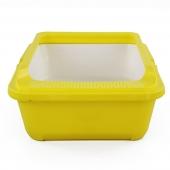 Reptile Structure 黄色多用饲养盒饲养箱 水龟乌龟爬虫刺猬花草适用