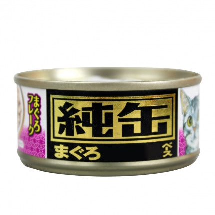 爱喜雅 进口纯罐金枪鱼白身薄片猫罐头70g 猫湿粮 小图 (0)