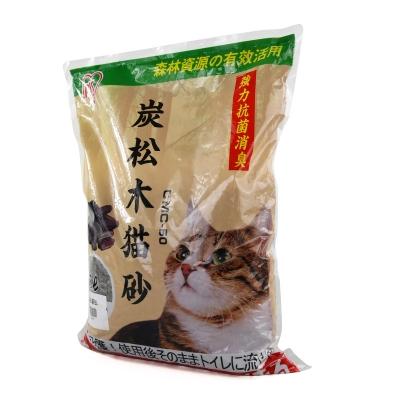 木炭松木猫砂5l