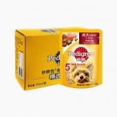 宝路 成犬精选牛肉妙鲜包100g*12包