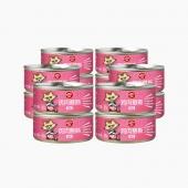 顽皮Wanpy happy100猫用鸡肉味慕斯罐头95g*12罐 猫罐头猫湿粮(新老包装,随机发货)