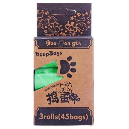 捣蛋鬼3卷装垃圾袋 宠物清洁用品 宠物拾便袋垃圾袋 狗狗便装带 小图 (0)