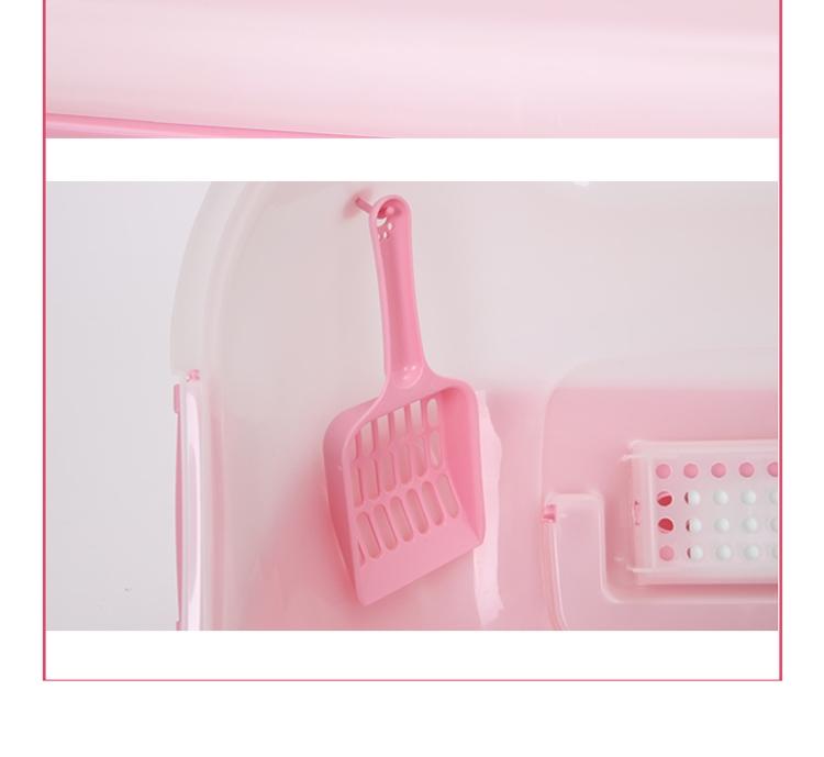 爱丽思IRIS 全封闭式宽敞门猫砂盆 猫厕所