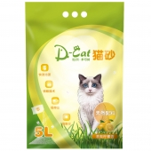 怡亲多可特 柠檬香型膨润土猫砂(5L)4kg (新老包装随机发货)