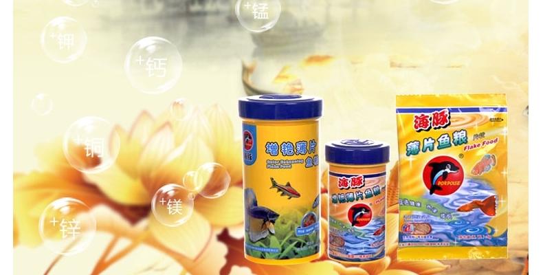 海豚薄片鱼粮