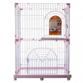 爱丽思豪华猫笼子 双层三层别墅猫窝