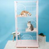 愛麗思IRIS 豪華雙層三層別墅貓窩貓籠