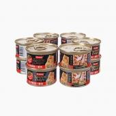 富力鲜Frisian 白身鲔鱼+蟹肉猫罐头85g*12罐 猫湿粮