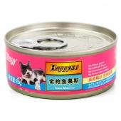 顽皮Wanpy 猫用金枪鱼慕斯罐头95g*4罐装