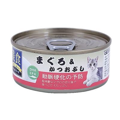 爱丽思IRIS 金枪鱼&鰹魚花猫罐头100g 猫湿粮