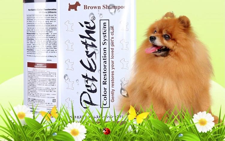 贝特爱思 真色彩香波棕色犬用沐浴露 400ml