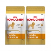 法国皇家ROYAL CANIN 贵宾成犬粮500g*2包 PD30