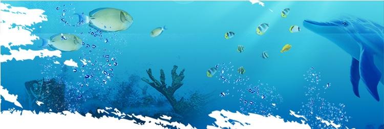 聚宝源 鱼缸装饰蓝色玻璃石子造景底沙砂石水晶 透明石100克