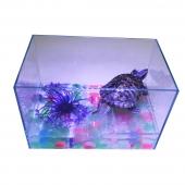 聚宝源超白玻璃生态乌龟别墅