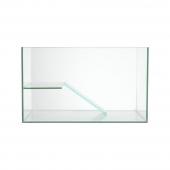 聚宝源超白玻璃生态乌龟别墅巴西龟缸 带爬梯晒台 时尚龟缸