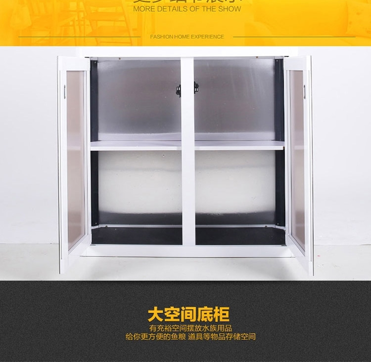 闽江F型龙鱼缸 水族箱家居装饰 过滤器60/80/100/120cm